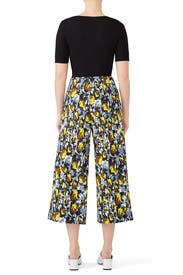 Cropped Citrus Trousers by Marni
