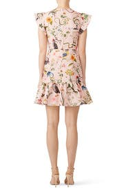 Reptiles and Birds Dress by RED Valentino