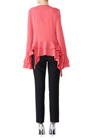 Pink Long Sleeve Top by Genny
