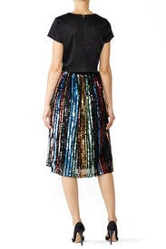 Sequin Midi Skirt by J.O.A.