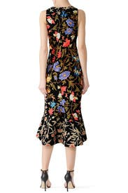 Kia Floral Frill Dress by Peter Pilotto