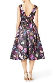 Winter Floral Dress by Cynthia Rowley