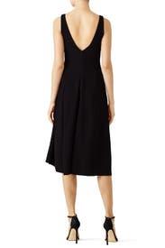 Black Tadayon Dress by Theory