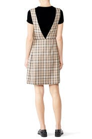 Checked Shift Dress by See by Chloe