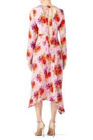 Vintage Floral Dress by MSGM
