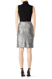 All Night Sequin Skirt by BB Dakota