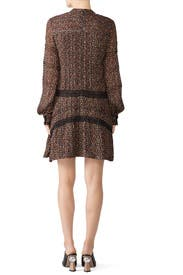 Floral Long Sleeve Shift by Derek Lam 10 Crosby