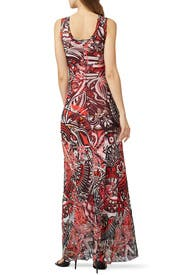 Multicolor Tank Maxi by Fuzzi