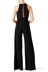 Black Popover Jumpsuit by Jill Jill Stuart