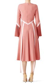 Rose Pleated Dress by Prabal Gurung