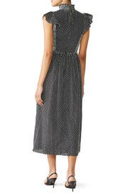Smocked Clip Midi Dress by kate spade new york