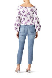 Floral Shanae Top by AMUR