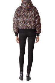 Winter Blossom Puffer Jacket by The Kooples