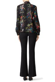 Roberta Combo Blouse by Parker