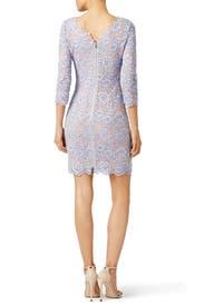 Lilac Zarita Dress by Diane von Furstenberg