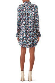 Navy Prism Kaylee Dress by Tory Burch