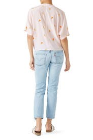 Blush Thea Top by Rails