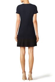 Quilted Jacquard Dress by Tory Burch