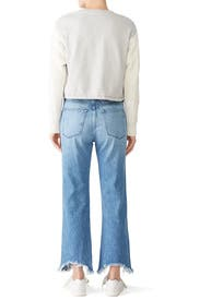 W4 Shelter Austin Crop Jeans by 3x1