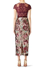 Artwork Sequin Dress by Marchesa Notte