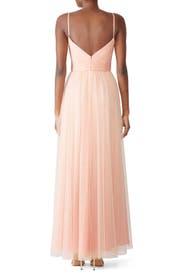 Blush Riley Gown by AMSALE