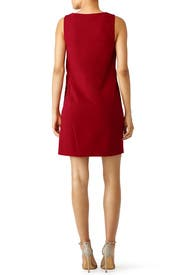 Red Jenn Dress by Diane von Furstenberg
