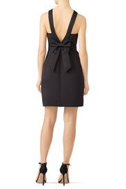 Black Bow Back Dress by kate spade new york