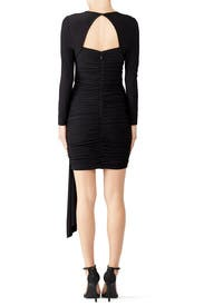 Black Morello Dress by STYLESTALKER
