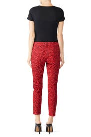 The Stiletto Leopard Skinny Jeans by Current/Elliott