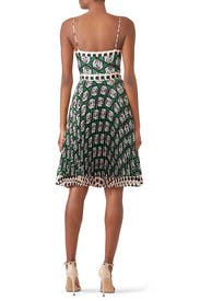 Hexagon Floral Jill Dress by Milly