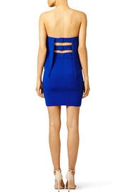 Cobalt Viola Dress by Jay Godfrey