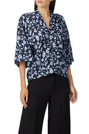 Floral Boxy Blouse by Derek Lam Collective