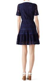 Meadow Navy Lace Dress by Draper James