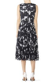Chalk Multi Pleated Dress by Jason Wu