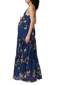 Blue Darling Maternity Maxi by Yumi Kim