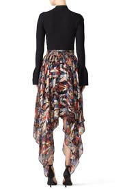 Long Asymmetrical Skirt by The Kooples