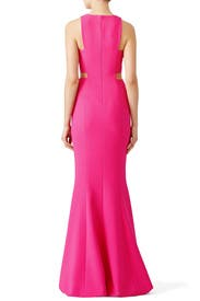 Pink Millbury Gown by LIKELY
