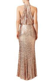 Blush Maria Gown by Badgley Mischka