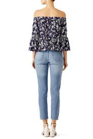 Midnight Floral Stockton Top by LIKELY