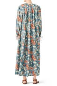 Blue Kaleo Dress by Antik Batik