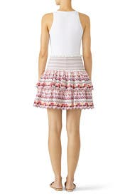 Embroidered Kinsley Skirt by AMUR