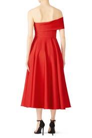 Red Lasse Dress by Jay Godfrey
