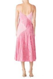 Pink Cami Midi Dress by Prabal Gurung