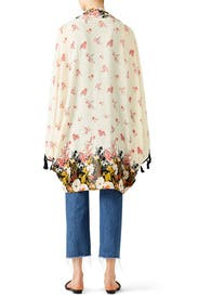 Bali Wrapped in Blooms Shawl by Free People