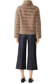 Lella Faux Fur Jacket by Rino & Pelle