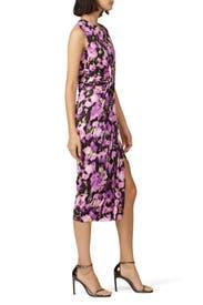 Printed Draped Jersey Dress by Jason Wu Collection