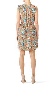 Orange Floral Dress by Slate & Willow