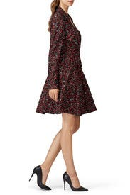 Floral Printed Shirt Dress by Thakoon Collective