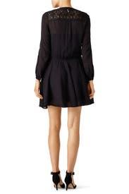 Black Lace Inset Dress by Derek Lam 10 Crosby
