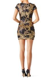 Gold Leaf Sheath by Dress The Population